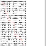 迷路をRTFで作成して脱出経路を赤く着色する v3