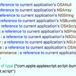 WordPressの指定IDの記事にリンクされているapplescriptからCocoa Classのproperty宣言を抽出 v3
