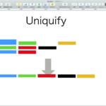Keynoteで一番左上のshapeオブジェクトに他のshapeのサイズを合わせる
