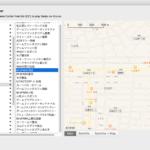 アラートダイアログ上にBrowser+Map Viewを表示 v2
