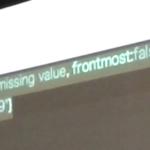 Xcodeで最前面のAS sourceを構文確認