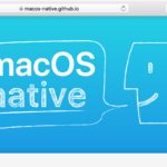 macOS native symposium #03に登壇します