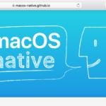 macOS native symposium #03に登壇します