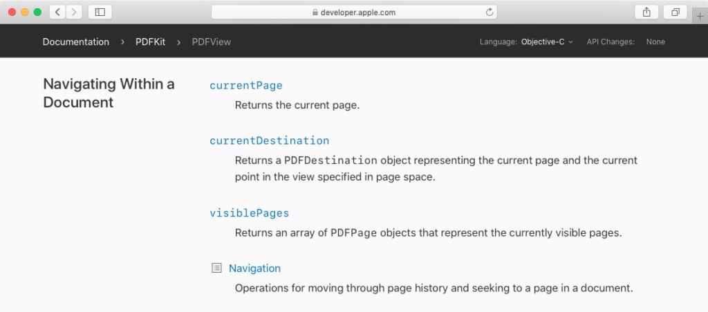 PDFPage – AppleScriptの穴