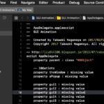 AppleScriptでCoreAnimationを利用