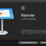 Keynoteで選択中のスライドのタイトルを取得して改行区切りテキストに変換