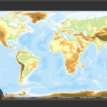 アラートダイアログ上にWebViewでCesiumを用いて地球儀上に地図を表示