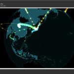 アラートダイアログ上のWebViewでGio.jsを用いて地球儀+データアニメーション表示 v2a
