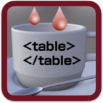 Mac App StoreでTable Dripper v1.1が公開に