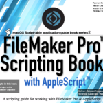 """We released English edition of """"FileMaker Pro Scripting Book with AppleScript"""""""